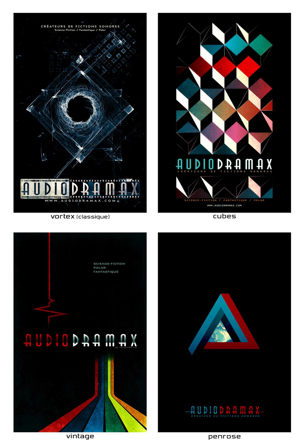 Affiches AudioDramax